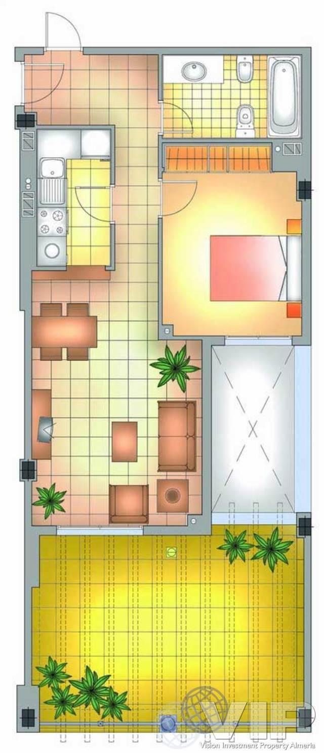 VIP4080: Apartment for Sale in Mojacar Playa, Almería