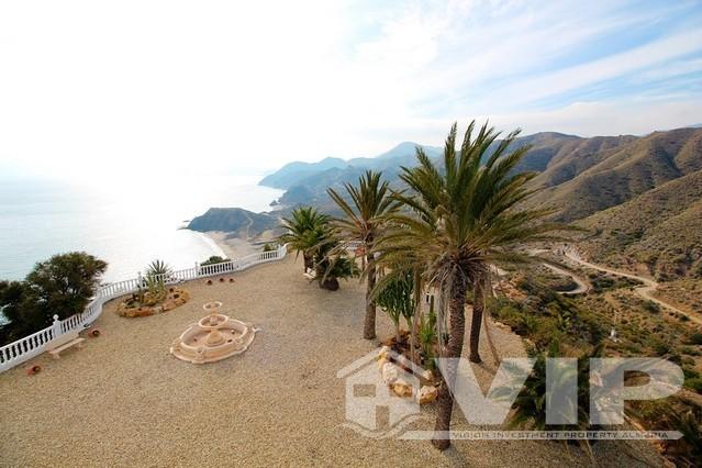 Views south to the Cabo de Gata National Park