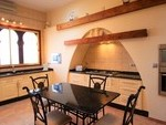 Villa fully equipped kitchen