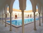 Moorish architecture arches and lighting