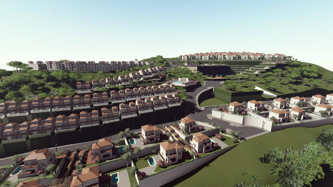Small Oasis Render Exterior Overall Aerial 1